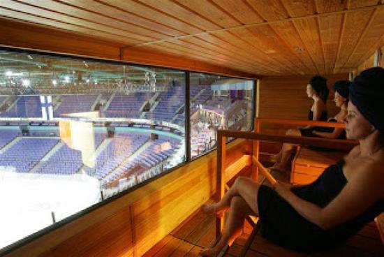 hartwall-arena-sauna-sky-box